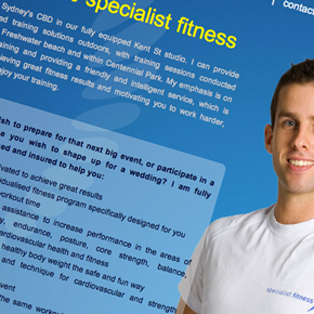 specialist fitness project page