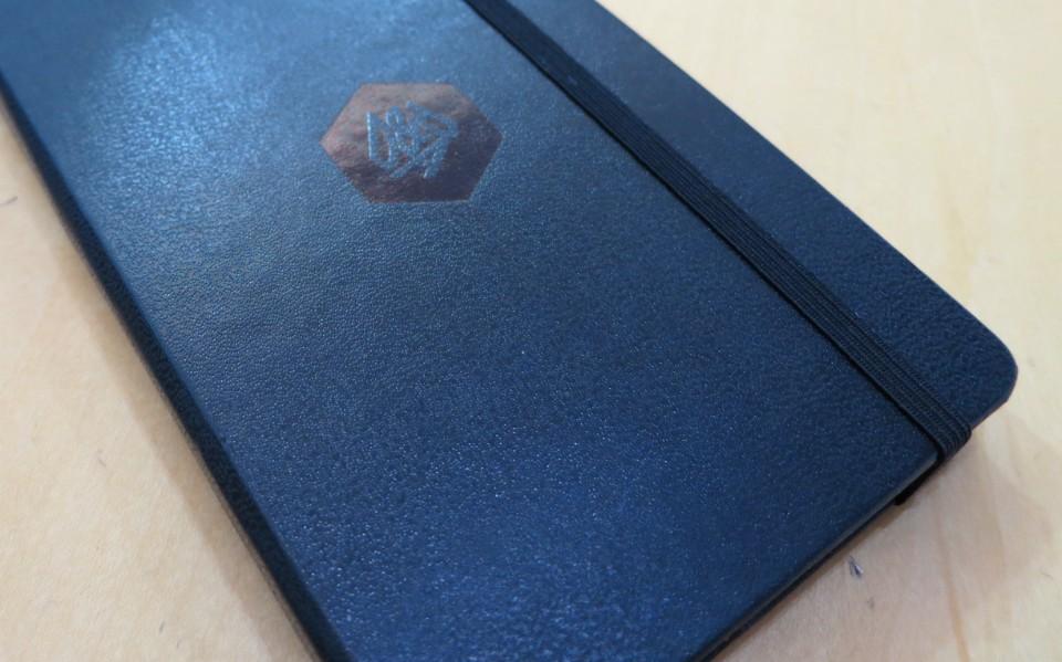 d and ad moleskin sketchbook cover