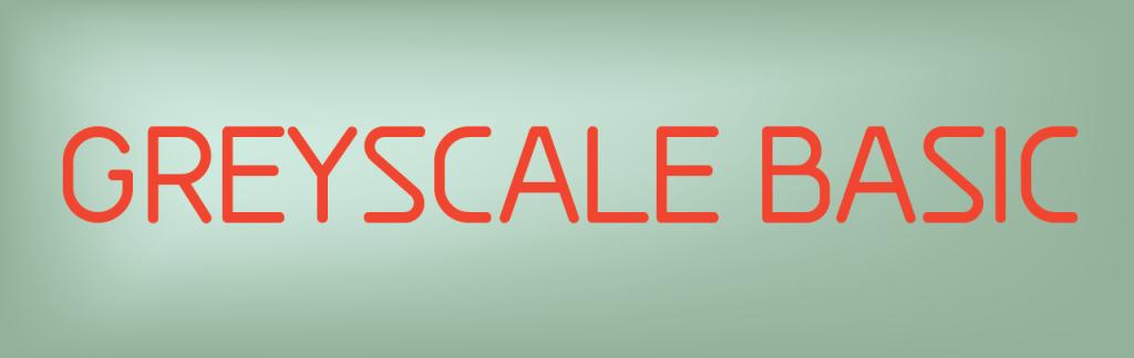 greyscale basic free font