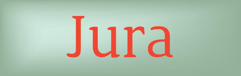 jura free font